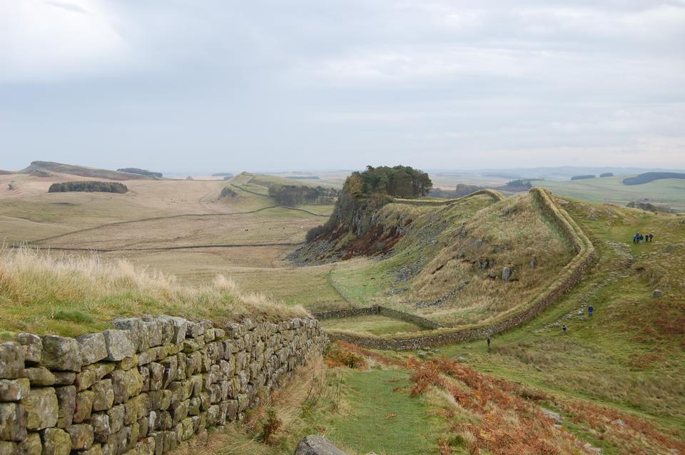 Free Hadrian's Roman Wall, Northumbria, North east England