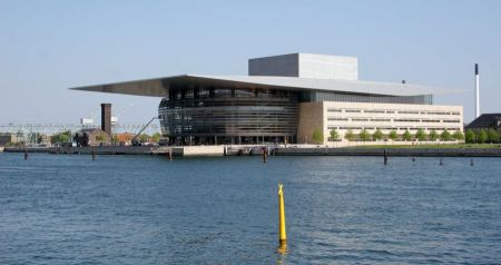 Free Royal opera house in Copenhagen