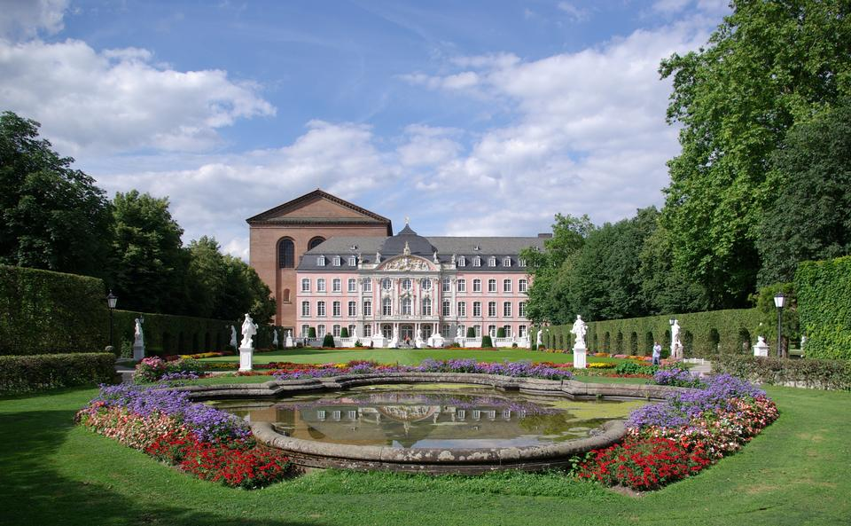 Free South wing of Prince-electors Palace in Trier, Germany