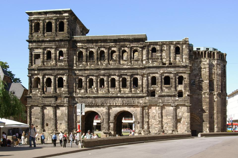 Free The Porta Nigra  in Trier, Germany