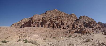 Free Ad Deir in the ancient Jordanian city of Petra, Jordan