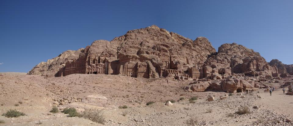 Free Ad Deir in the ancient Jordanian city of Petra, Jordan