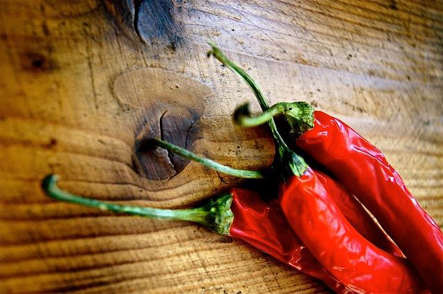Free chili spice kitchen wood sharp red eat food bio