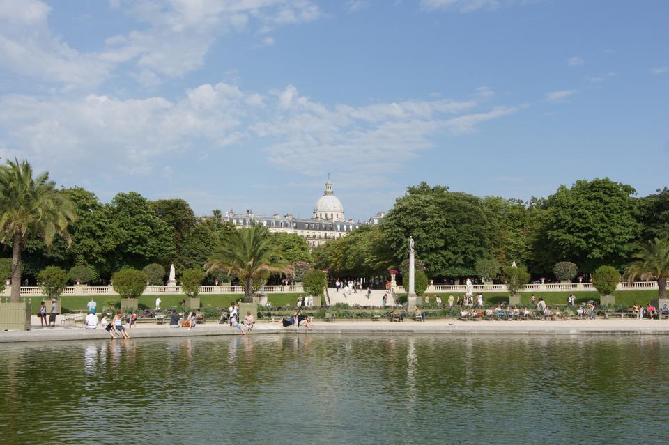 Free Luxembourg Garden(Jardin du Luxembourg) in Paris, France
