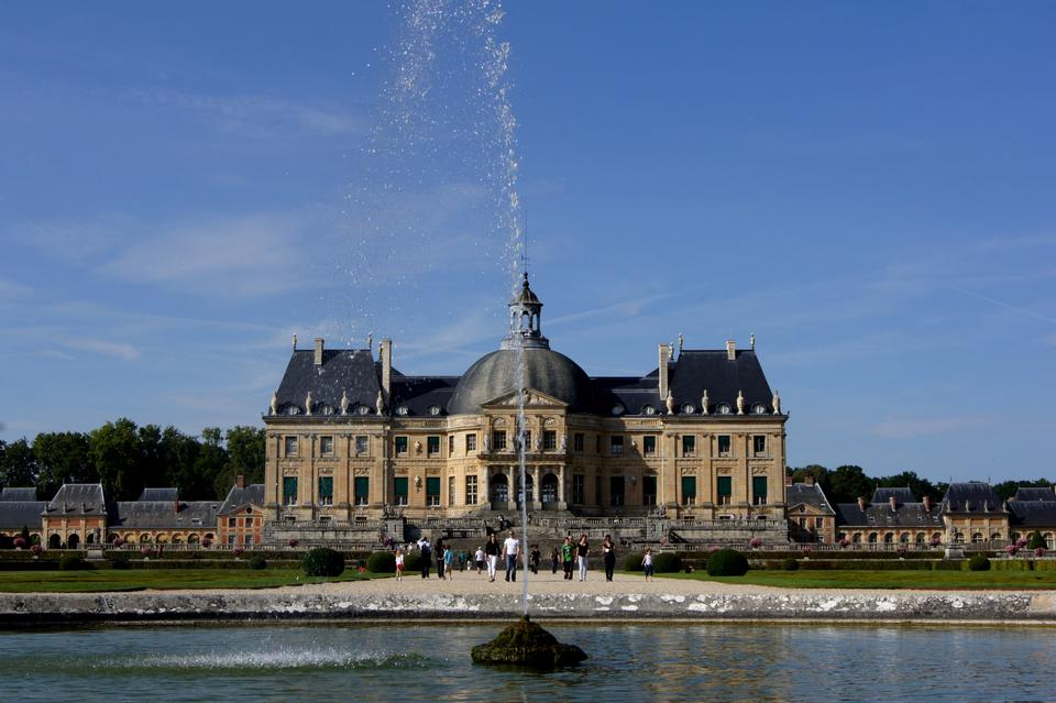 Free Vaux Le Vicomte, France, the castle