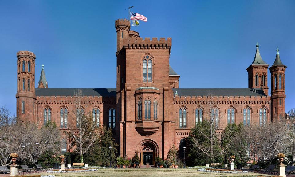Free The Smithsonian Building in Washington D.C.