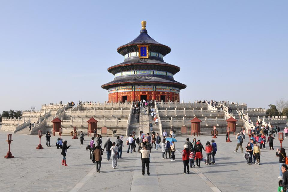 Free Hall of Prayer for Good Harvests in The Temple of Heaven