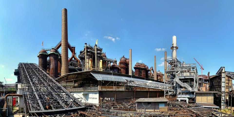 Free Volklingen Ironworks in Saar, Germany