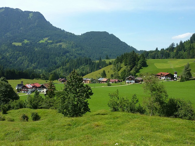 Free hinterstein germany landscape scenic mountains sky