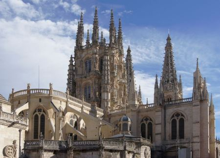 Free Cathedral dedicated to Virgin Mary in Burgos, Spain