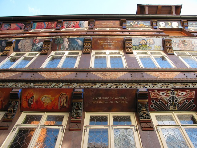Free hildesheim germany building details close-up art
