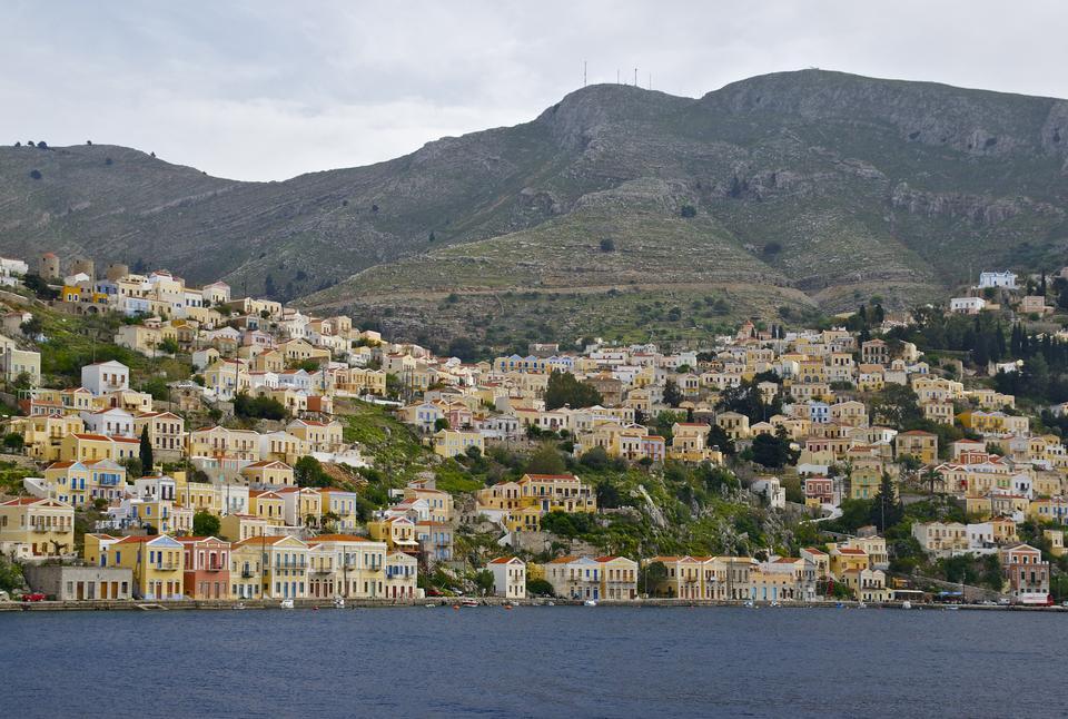 Free Symi island in Greece