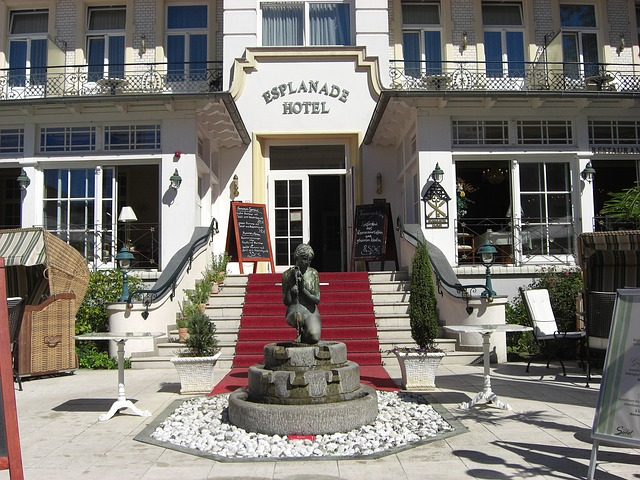 Free ahlbeck germany hotel building architecture statue