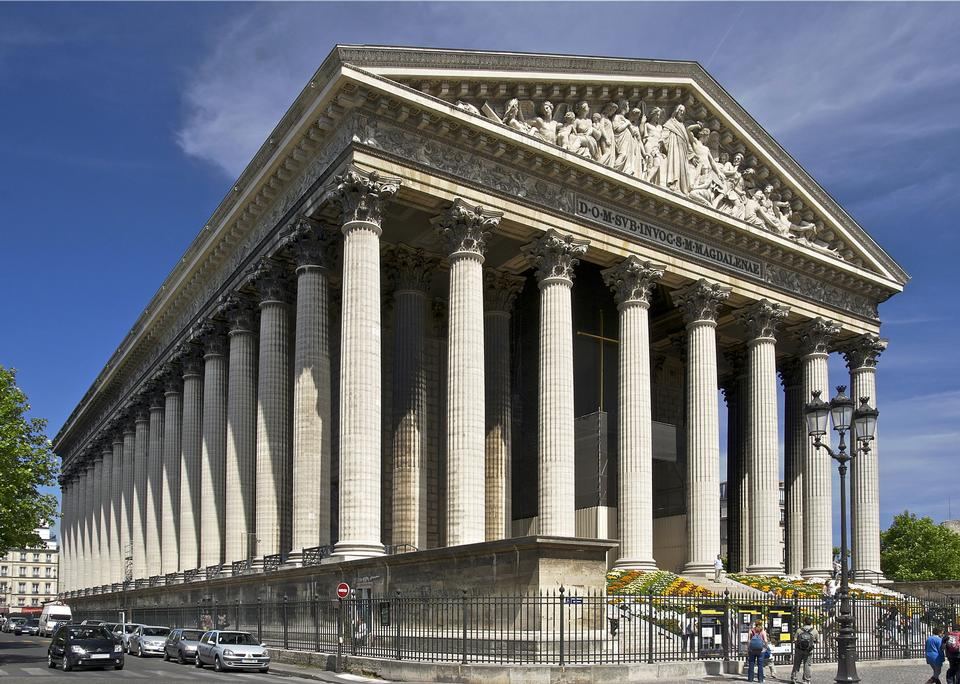 Free Eglise de la Madeleine churches of Paris, France