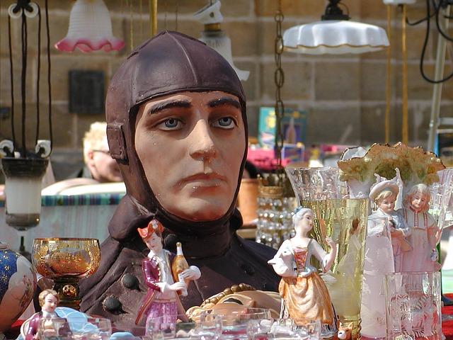 Free flea market junk nippes virtual world doll flyer