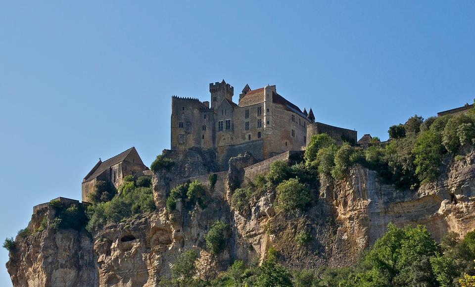 Free France, middle age castle of Beynac