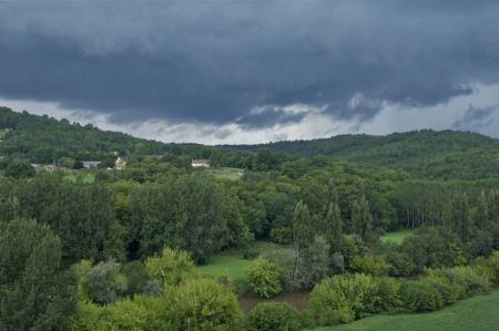 Free Stormy weather in Dordogne, France