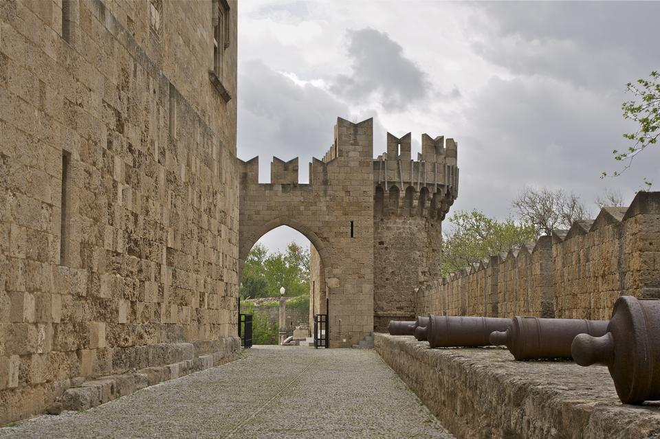 Free Medieval Avenue of the Knights, Rhodes, Greece
