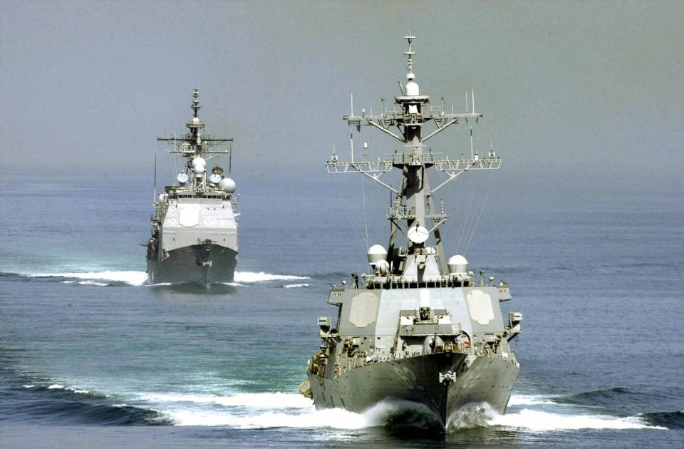 Free The guided missile cruiser USS Chosin