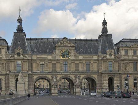 Free Louvre Museum, Paris, France
