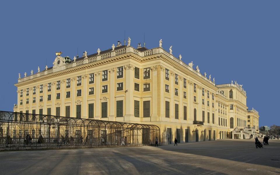 Free Vienna, Austria - Schoenbrunn Palace