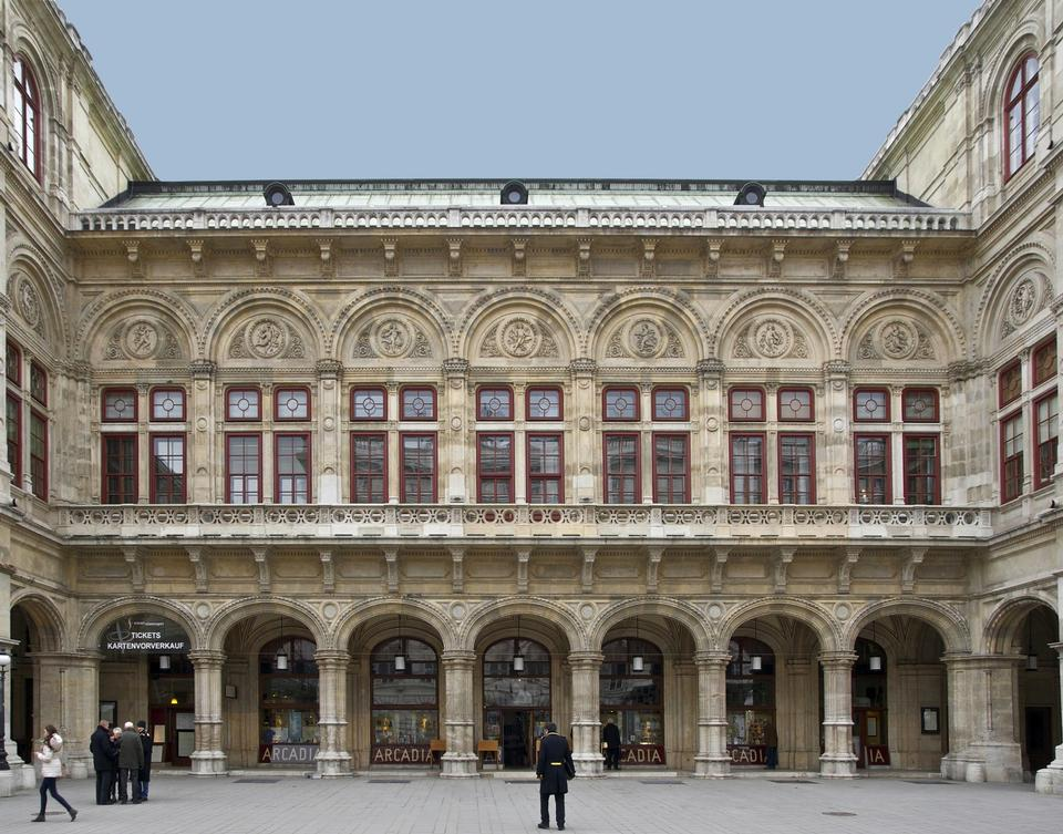 Free Opera House in Vienna, Austria