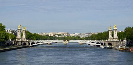 Free Stunning Pont Alexandre III bridge