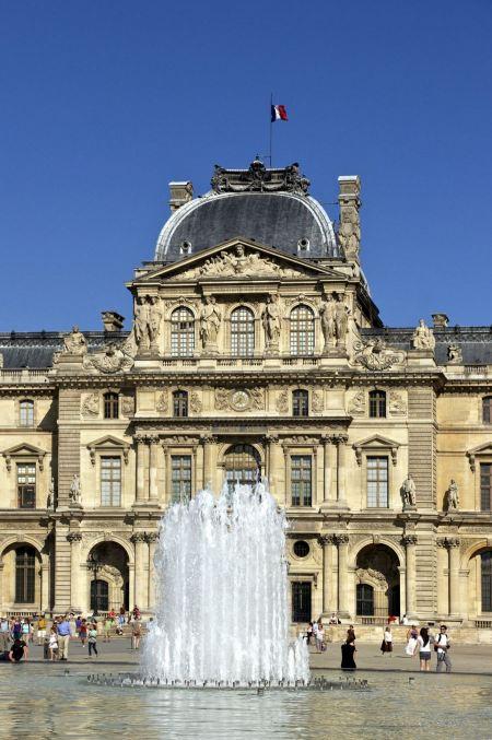 Free Louvre Palace, Paris, France