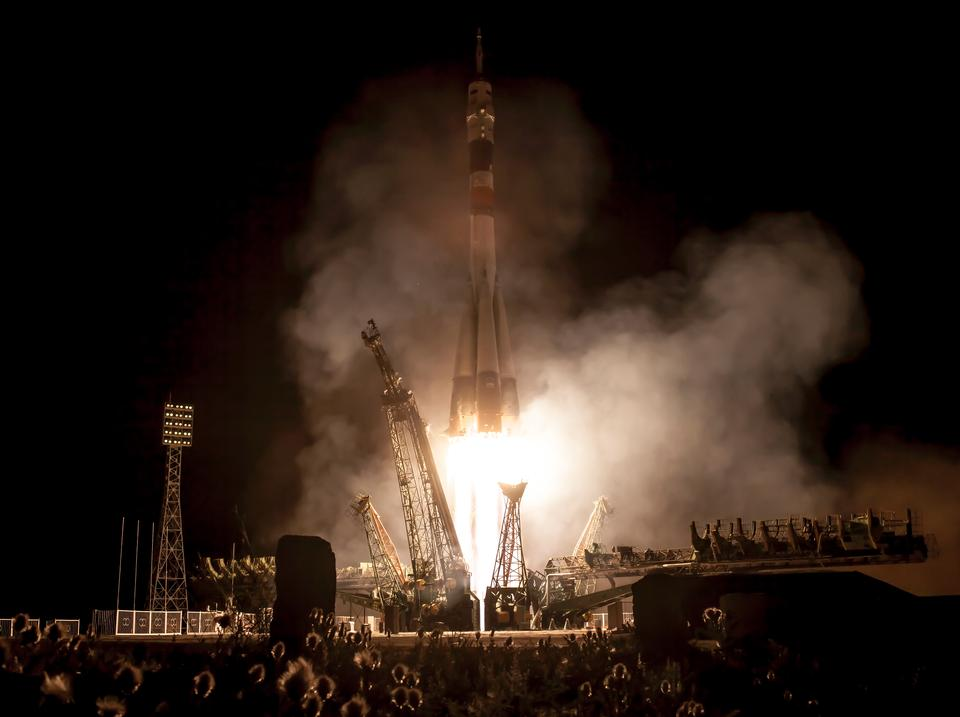 Free Expedition 36 Soyuz Launch