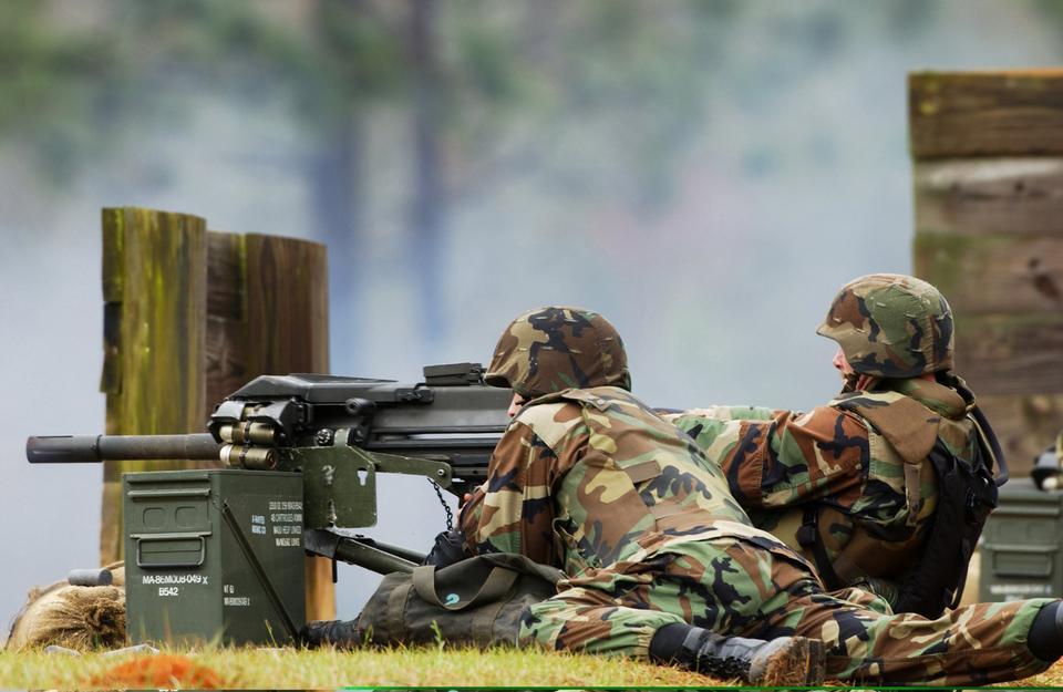 Free MK-19 40mm grenade launcher
