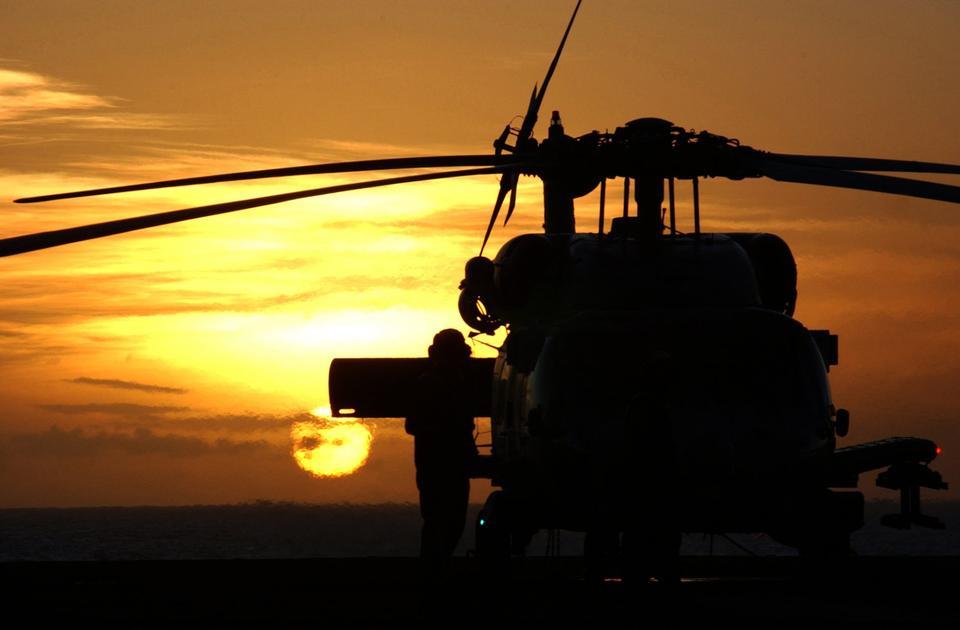 Free A Plane Captain prepares an HH-60H Sea Hawk