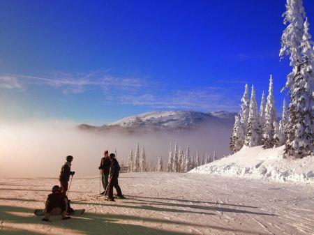 Free Beautiful Ski Slope BC Canada