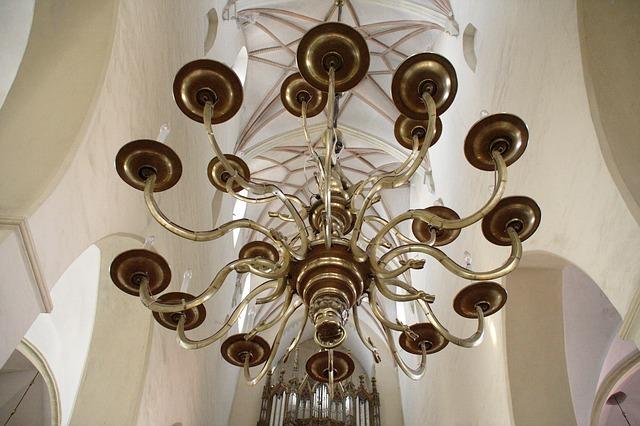 Free estonia tallinn olaf church church candlestick