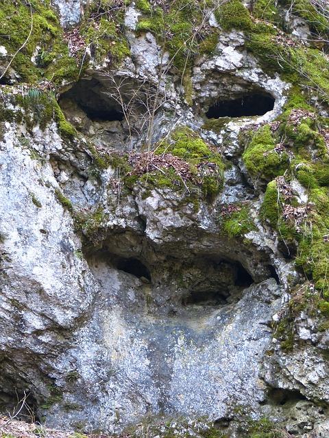 Free rock cave face limestone stone face rock face