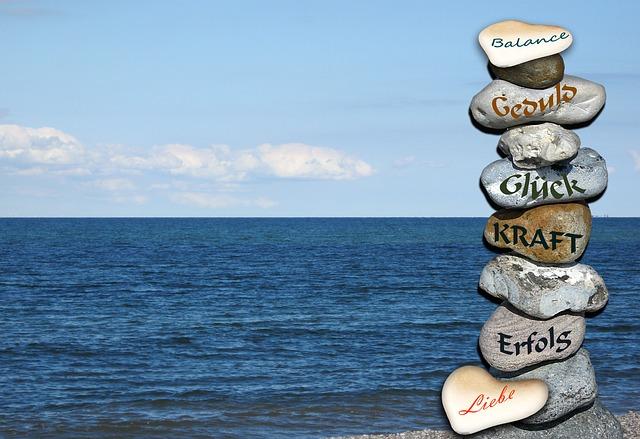 Free Photos: Luck tower stones balance see sea horizon beach | Gaby Stein