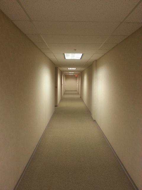 Free empty hallway office quiet