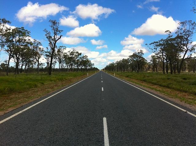 Free australia gregory highway road sky clouds