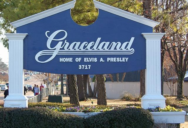 Free memphis tennessee graceland elvis presley landmark