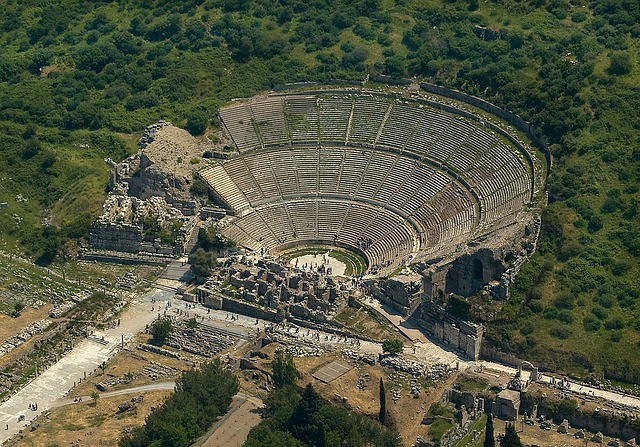 Free ephesus turkey greek theatre tourist tourism