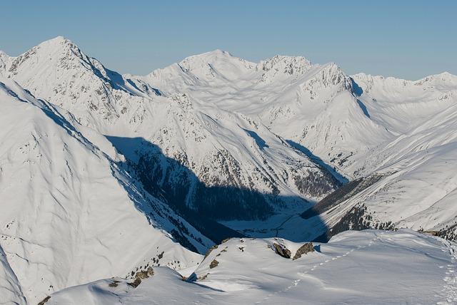 Free austria landscape scenic mountains winter snow