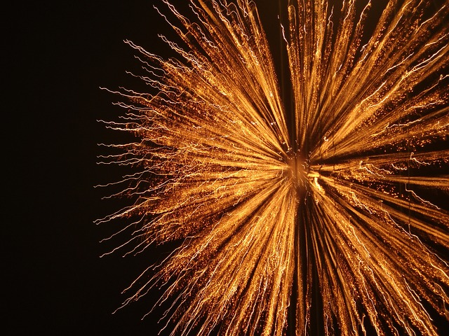 Free pyrotechnics fireworks explosion
