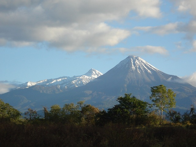 Free landscape nevado mountains winter