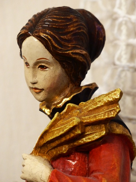 Free Photos: Fig woman head madonna maria holy holy mother | Hans Braxmeier