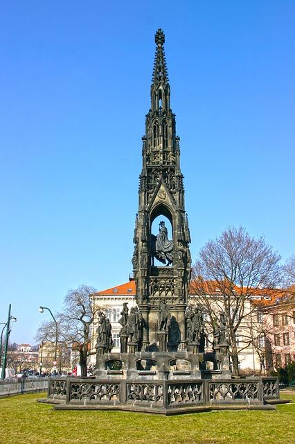 Free prague statue cseh