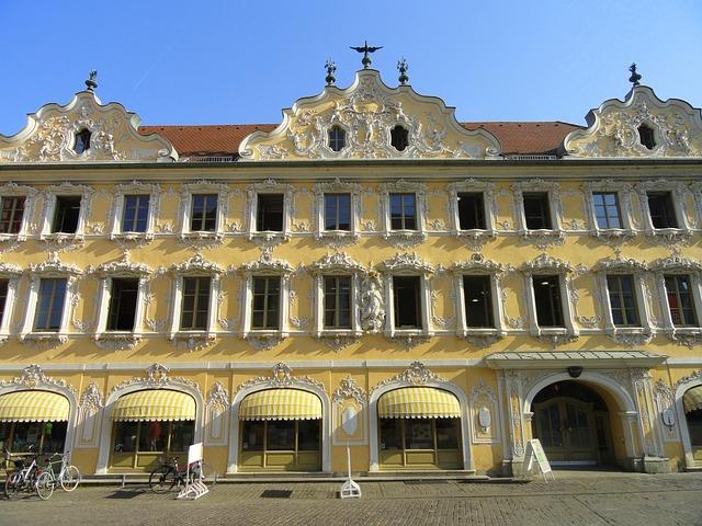 Free würzburg germany building facade exterior