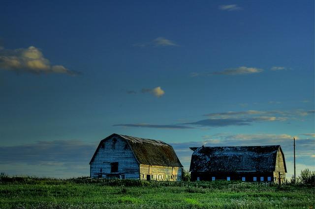 Free alberta canada landscape scenic sky clouds farm