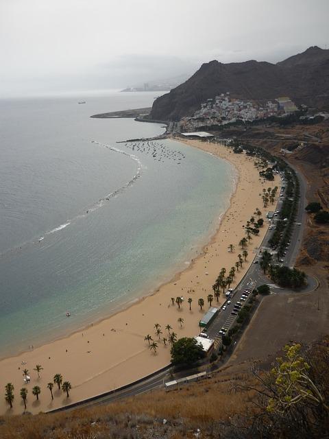 Free beach teresitas santa cruz tenerife santa cruz