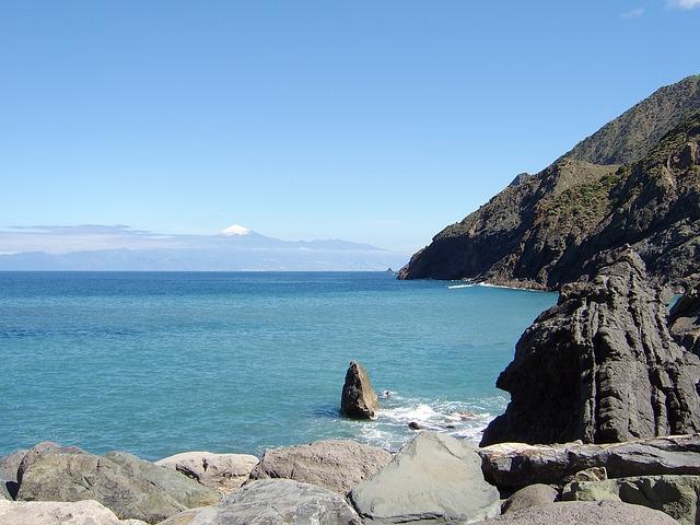 Free tenerife canary islands spain islands coastline