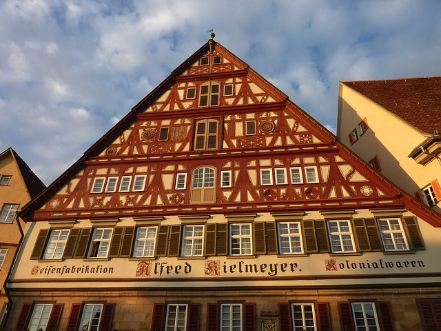 Free esslingen germany building facade details
