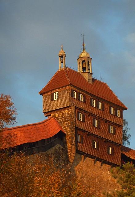 Free esslingen germany sky clouds building facade